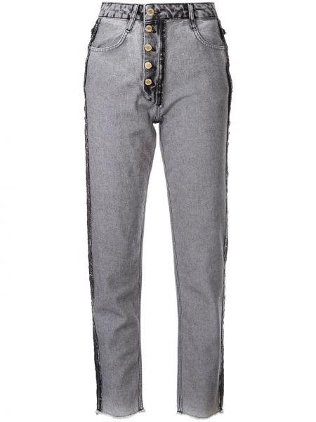 Черные джинсы с карманами Litkovskaya