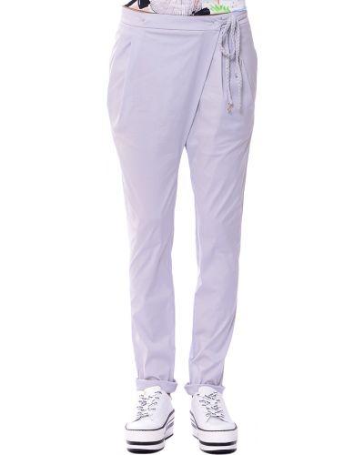 Серые брюки хлопковые Patrizia Pepe