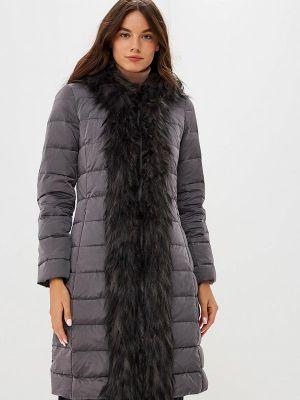 Зимняя куртка осенняя серая United Colors Of Benetton