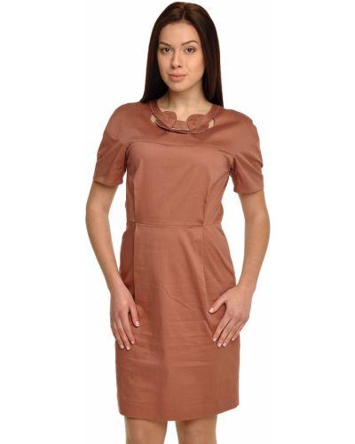 Хлопковое платье - оранжевое Bally