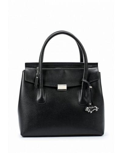 Черная кожаный сумка Labbra