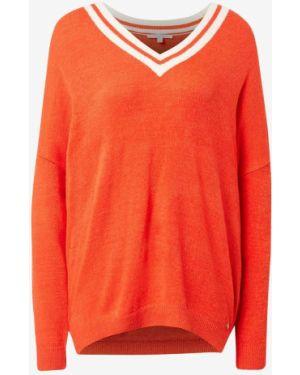 Пуловер с V-образным вырезом Tom Tailor