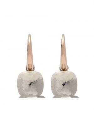 Серьги - белые Pomellato