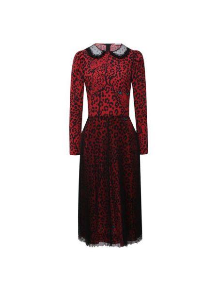 Купальник-платье красное итальянское платье с декоративной отделкой Redvalentino