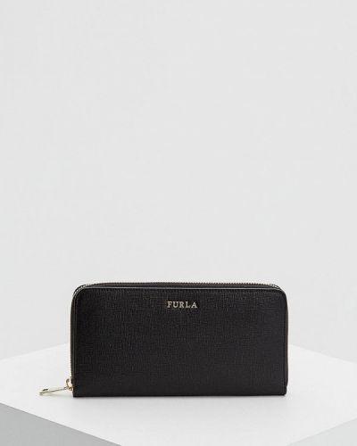 Черный кошелек Furla