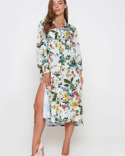 Платье платье-рубашка весеннее Sellin