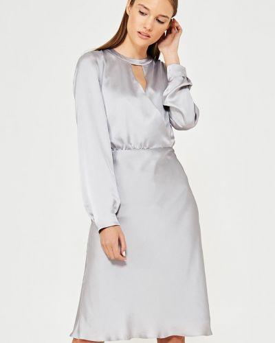 Платье мини однотонное прямое Simple