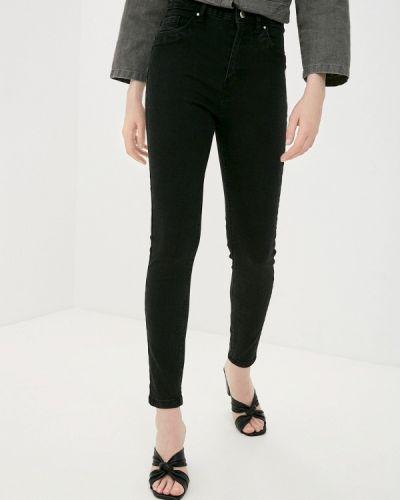 Черные джинсы-скинни узкого кроя Pink Woman