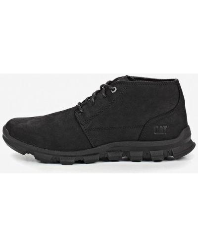 Кожаные ботинки 2019 черный Caterpillar