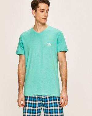 Piżama bawełniana - zielona Henderson