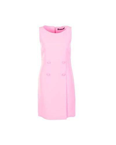 Розовое платье английское Versace
