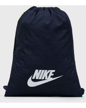 Czerwony sport plecak z printem Nike Sportswear