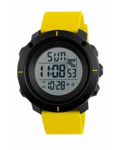 Желтые часы Skmei