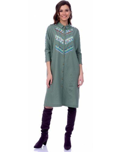 Платье миди классическое платье-сарафан Lautus