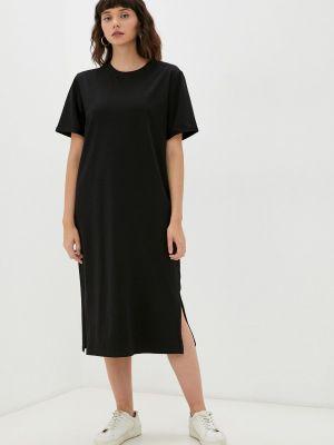 Черное платье осеннее M,a,k You Are Beautiful