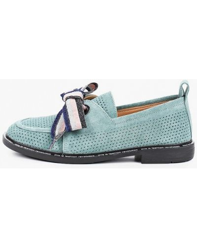 Зеленые ботинки Pierre Cardin