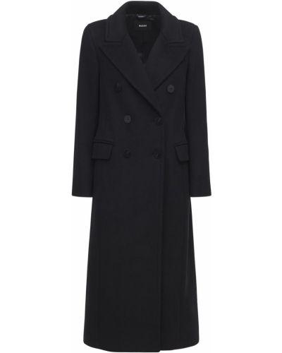 Черное пальто на пуговицах Mackage