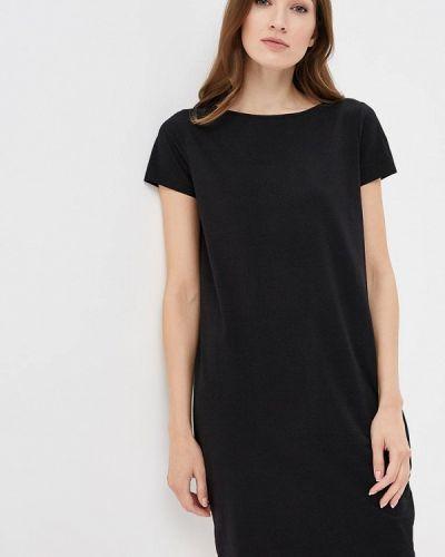 Платье футболка черное Iwie