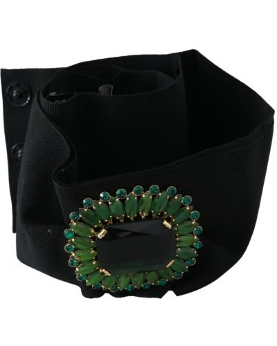 Szeroki pasek w paski na paskach z paskami Dolce And Gabbana
