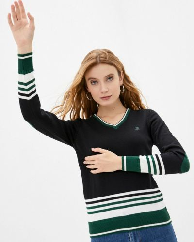 Черный пуловер Giorgio Di Mare