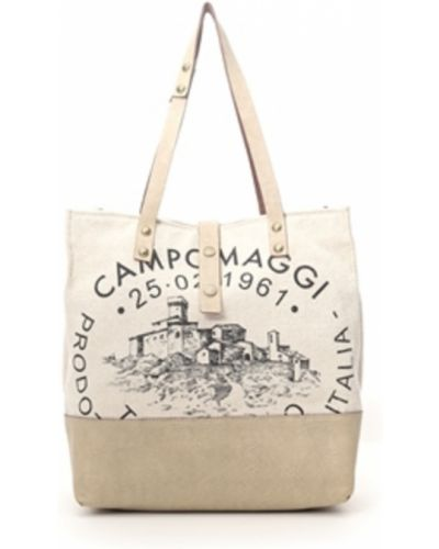 Beżowa torebka Campomaggi