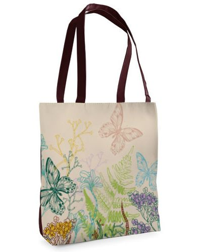 Текстильная бабочка с бабочками на молнии Presentville