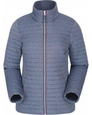 Pikowana kurtka z kieszeniami światło Mountain Warehouse