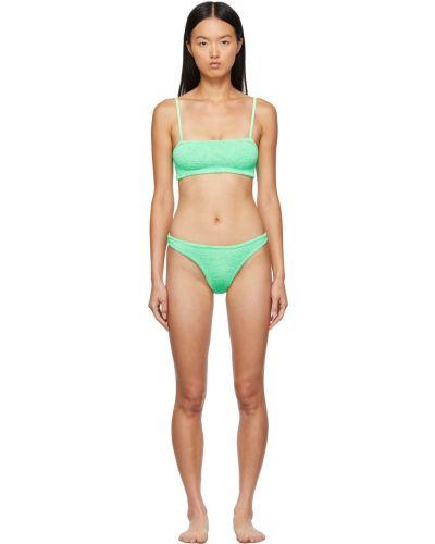 Zielony bikini Hunza G