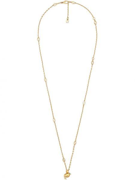 Naszyjnik metal złoto pozłacany Gucci