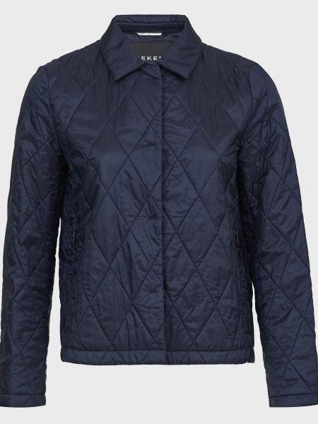 Синяя куртка на кнопках Weekend Max Mara