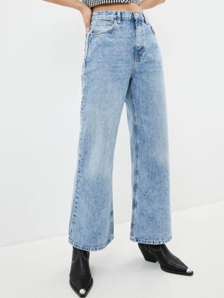 Широкие джинсы расклешенные Topshop