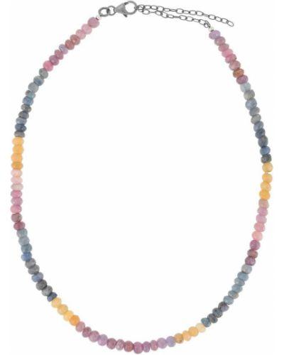 Niebieski naszyjnik łańcuch szafir Jemma Sands