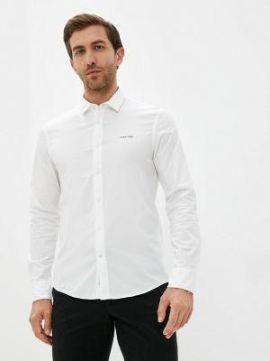 Белая рубашка осенняя Calvin Klein