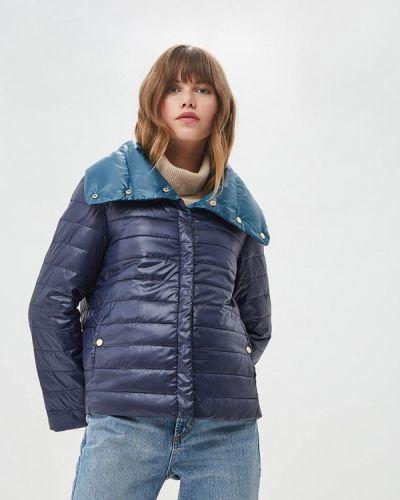 Утепленная куртка - синяя Trucco