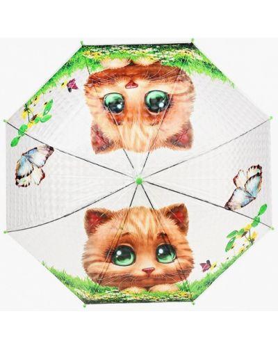 Зонт-трость прозрачный Goroshek