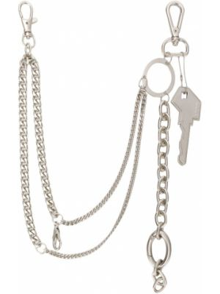 Łańcuch ze srebra srebrny Ader Error