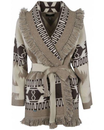 Beżowy sweter Alanui