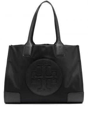 Нейлоновая черная сумка-тоут Tory Burch