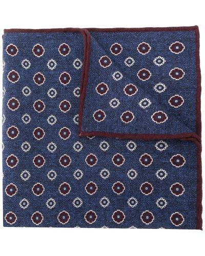 Bawełna niebieski wełniany chusteczka przycięte Eleventy