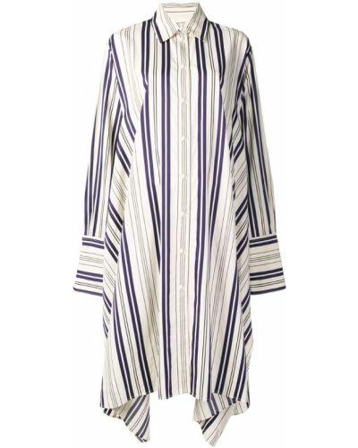 Платье миди на пуговицах - бежевое Sonia Rykiel