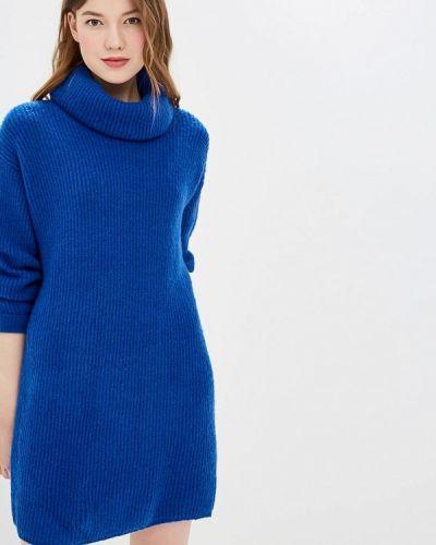 Платье весеннее синее By Swan