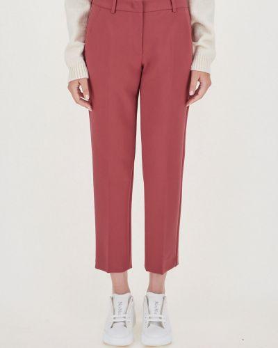 Классические брюки - бордовые Maxmara