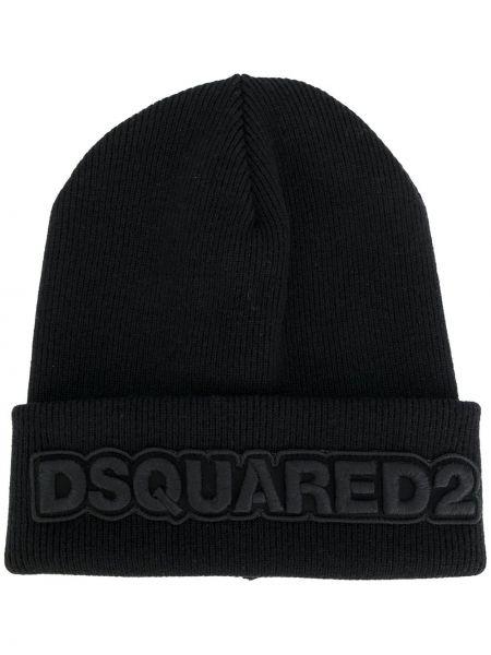 Czapka z logo klasyczny Dsquared2