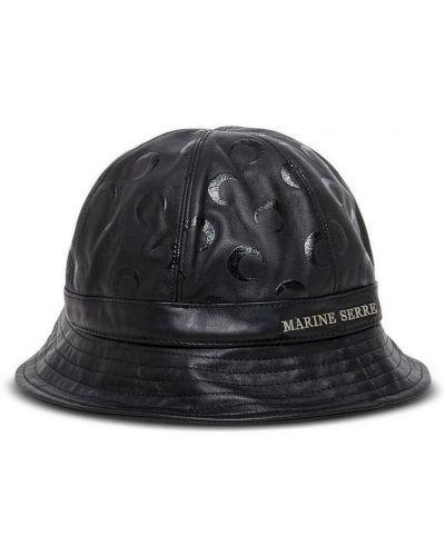 Czarny kapelusz Marine Serre