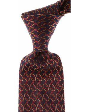 Złoty krawat - czerwony Gianni Versace
