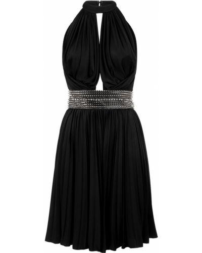 Платье мини с поясом с драпировкой Philipp Plein