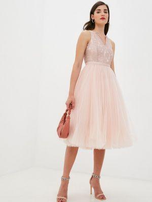 Розовое весеннее платье M,a,k You Are Beautiful