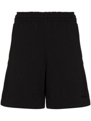 Шорты с карманами - черные Adidas