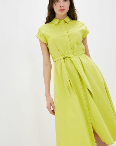 Зеленое платье-рубашка Gerry Weber
