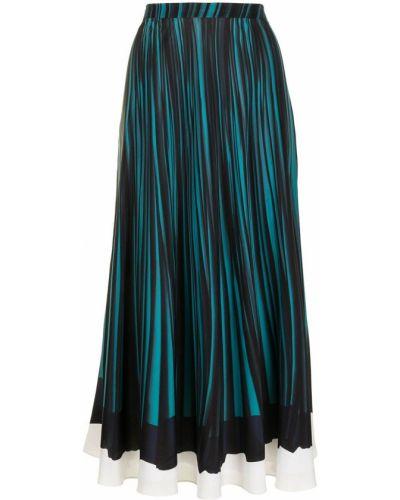 Черная прямая с завышенной талией юбка Paul Smith